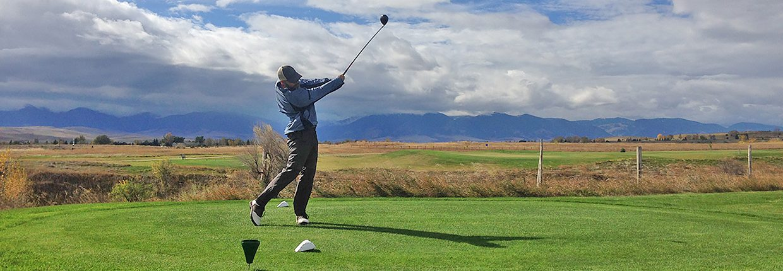 Sheridan Wyoming golfing