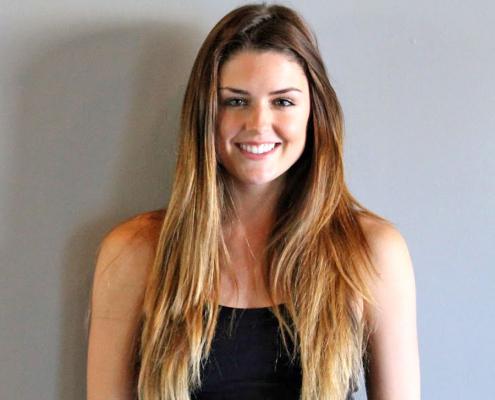 Lexie Prosinski, Pilates instructor